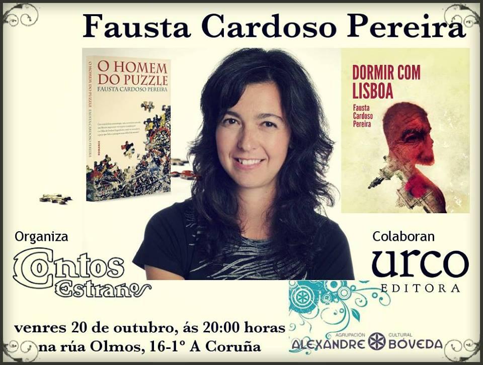Fausta Cardoso Pereira na Coruña